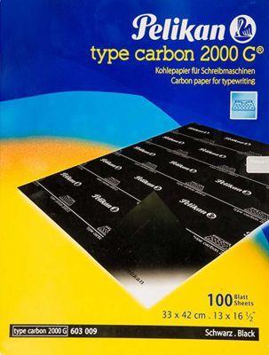 Pelikan Karbon Kağıdı 2000 G Siyah 404509
