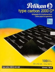 PELİKAN - Pelikan Karbon Kağıdı 2000 G Siyah 404509