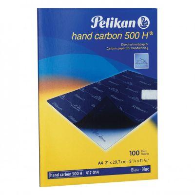 Pelikan Karbon Kağıdı 500 H Hand Mavi 417014