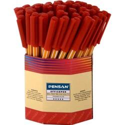 PENSAN - Pensan Tükenmez Kalem Ofispen 1010 Kırmızı 60'lı