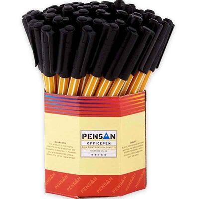 Pensan Tükenmez Kalem Ofispen 1010 Siyah 60'lı