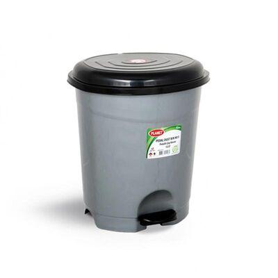 Planet Pedallı Çöp Kovası 12 lt Gri
