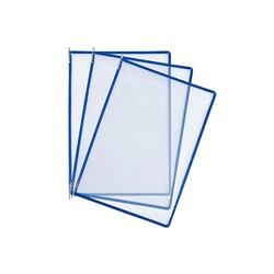 HİPAŞ - Plastik Şömiz Yaprağı A4 Mavi