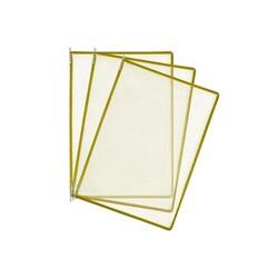 HİPAŞ - Plastik Şömiz Yaprağı A4 Sarı
