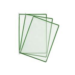 HİPAŞ - Plastik Şömiz Yaprağı A4 Yeşil