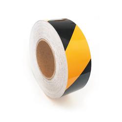 TAROKS - Reflektifli İkaz Bandı Sarı/Siyah 50x46 mt