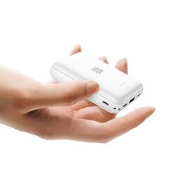 Rock P51 Powerbank Kablosuz Şarjlı 10.000 mah. Beyaz - Thumbnail