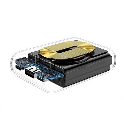 Rock P51 Powerbank Kablosuz Şarjlı 10.000 mah. Beyaz