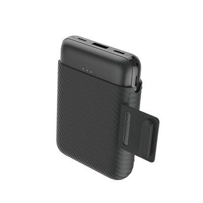 Rock P51 Powerbank Kablosuz Şarjlı 10.000 mah. Siyah