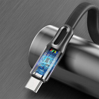 Rock Şarj Kablosu S1 Flat Micro USB 5V/2.4A Siyah 1 m