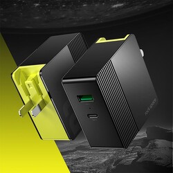 Rock Space Hızlı Şarj Cihazı Speed PPS ve QC 4.0 Macbook I pad Type C - Thumbnail
