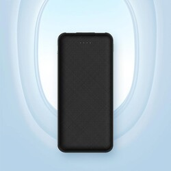 Rock Space Power Bank P62 Pro 10.000 mah. Siyah - Thumbnail