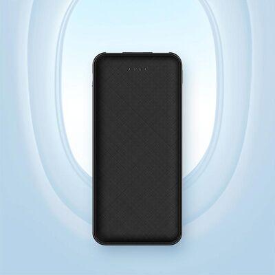 Rock Space Power Bank P62 Pro 10.000 mah. Siyah