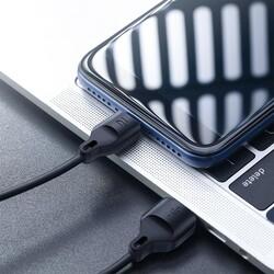 Rock Space Şarj Kablosu Z13 Micro USB 100 cm Siyah - Thumbnail