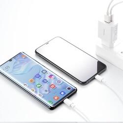 Rock Space T29 Hızlı Şarj Cihazı 5V / 2.4A Çift USB Beyaz - Thumbnail
