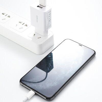 Rock Space T29 Hızlı Şarj Cihazı 5V / 2.4A Çift USB Beyaz