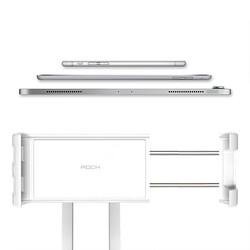 Rock Univrersal Ayarlanabilir Masaüstü Telefon ve Tablet Standı Silver - Thumbnail