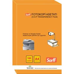 SARFF - Sarff Fotokopi ve Tepegöz Asetatı A4 100lü 15330089