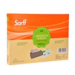 SARFF - Sarff Laminasyon Filmleri 125 Mikron A4 216X303