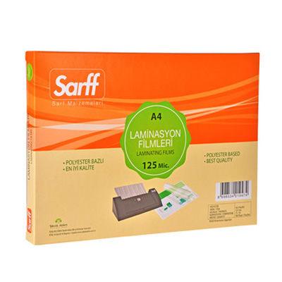 Sarff Laminasyon Filmleri 125 Mikron A4 216X303