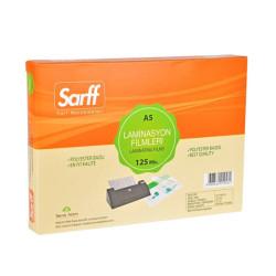 SARFF - Sarff Laminasyon Filmleri 125 Mikron A5 154X216