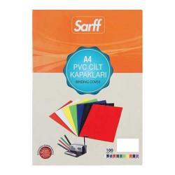 SARFF - Sarff Pvc Cilt Kapağı 160 Mikron Opak Beyaz A4