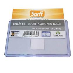 SARFF - Sarff Pvc Kimlik Ehliyet Koruma Kabı 54 X 86
