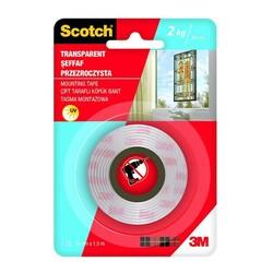 SCOTCH - Scotch Montaj Bandı Şeffaf 19 mm x 1,5 m 4004