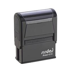 SIRDAŞ - Sırdaş Otomatik Kaşe Kod:4310 10x26 mm