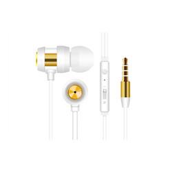 SNOPY - Snopy SN-J01 Beyaz Gold Mikrofonlu Kulaklık