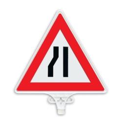 ÜSTÜN A.Ş. - Soldan Daralan Yol Uyarı Levhası Tek Yön Tr2803