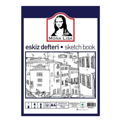 Südor Eskiz Defteri A4 120 gr 50 yp BN05-4
