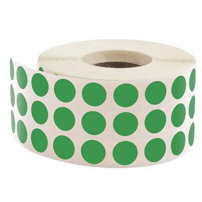 Tanex Nokta Etiket Ø:10 Yeşil 5000 Adet