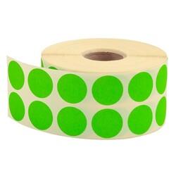 TANEX - Tanex Nokta Etiket Ø:20 Yeşil 2500 Adet
