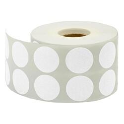 TANEX - Tanex Nokta Etiket Ø:25 Beyaz 2500 Adet