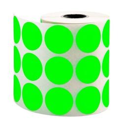 TANEX - Tanex Nokta Etiket Ø:30 mm Yeşil 2000 Adet