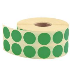 TANEX - Tanex Nokta Etiket Yeşil Ø:25 mm