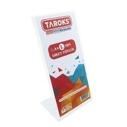 TAROKS - Taroks Föylük 1/3 A4 L Tipi Dikey Pleksi