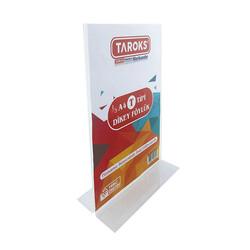 TAROKS - Taroks Föylük 1/3 A4 T Tipi Dikey Pleksi