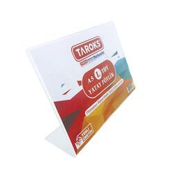 TAROKS - Taroks Föylük A5 L Tipi Yatay Pleksi