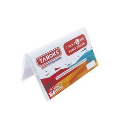 TAROKS - Taroks Föylük L Tipi Yatay 7,4 cm x 5,2 cm