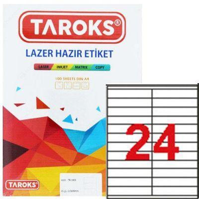 Taroks Lazer Etiket Tr-1224 105X23