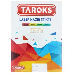 TAROKS - Taroks Lazer Etiket Tr-1280 22X12