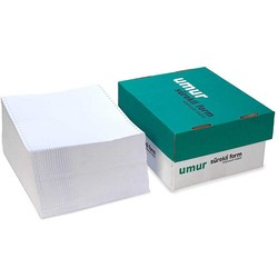 UMUR - Umur Süreklı Form Bilgisayar Kağıdı 11x24 2 Nüsha 1000 Adet