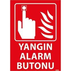 TAROKS - Yangın Alarm Butonu Uyarı Levhası U06001
