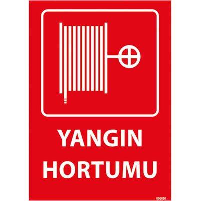 Yangın Alarm Butonu Uyarı Levhası U06020